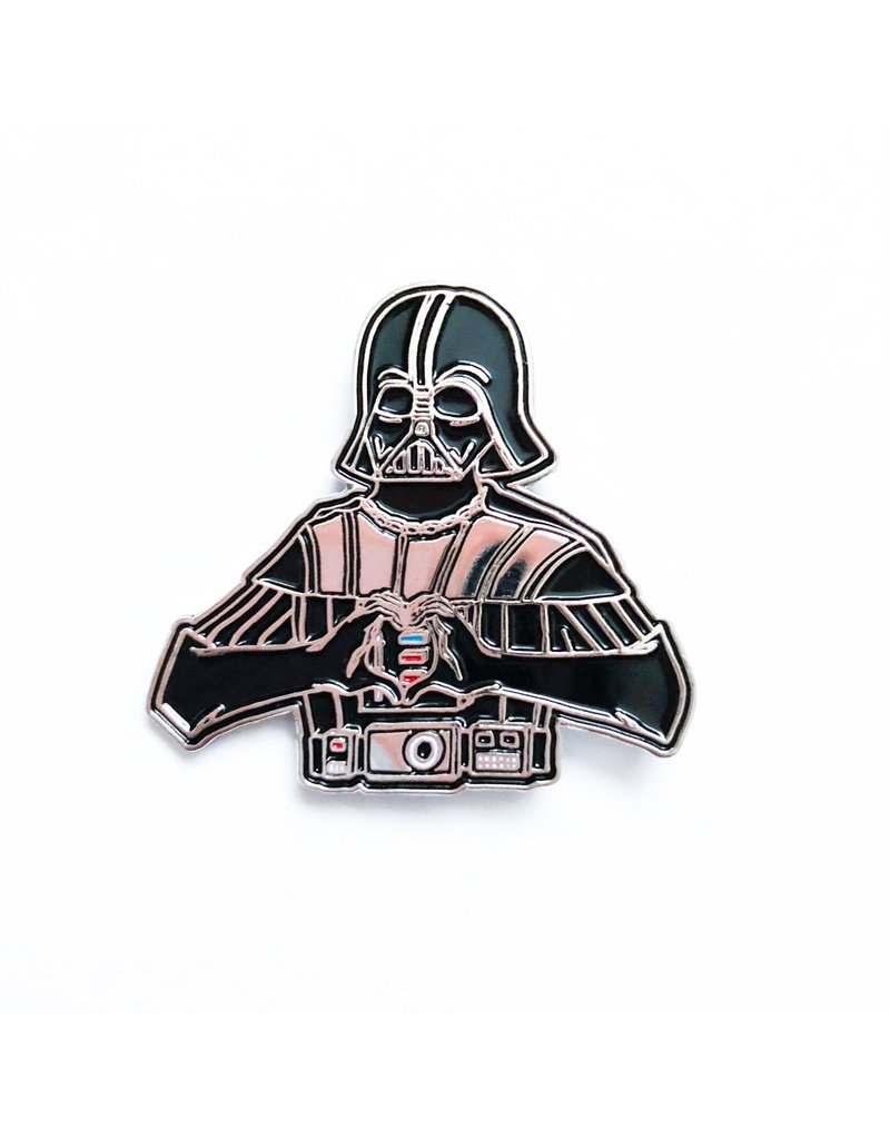 I Heart U Darth Vader Pin