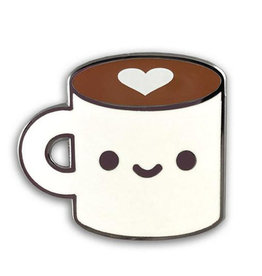 Coffee Luv Pin
