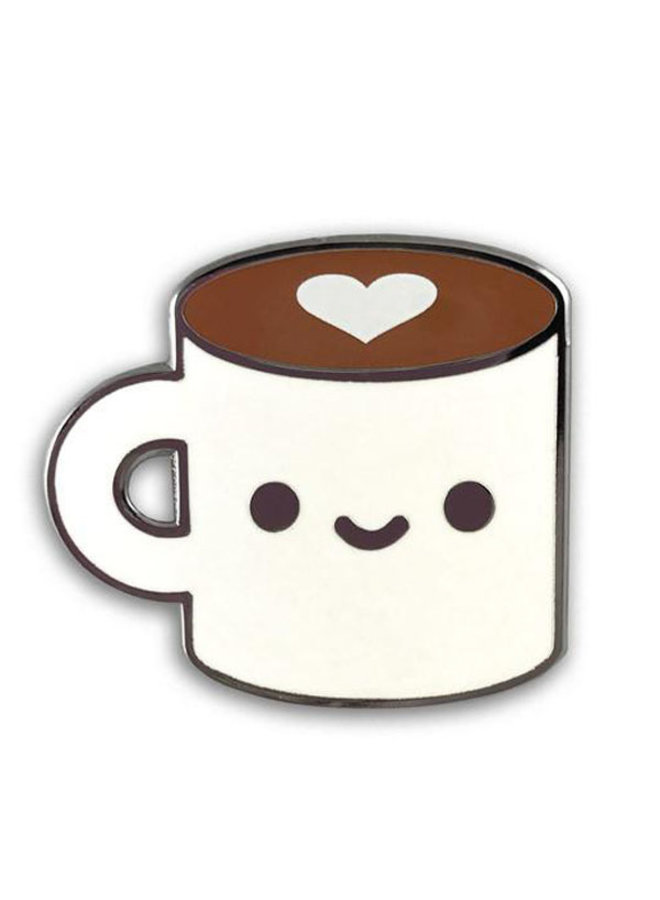 Coffee Luv Pin