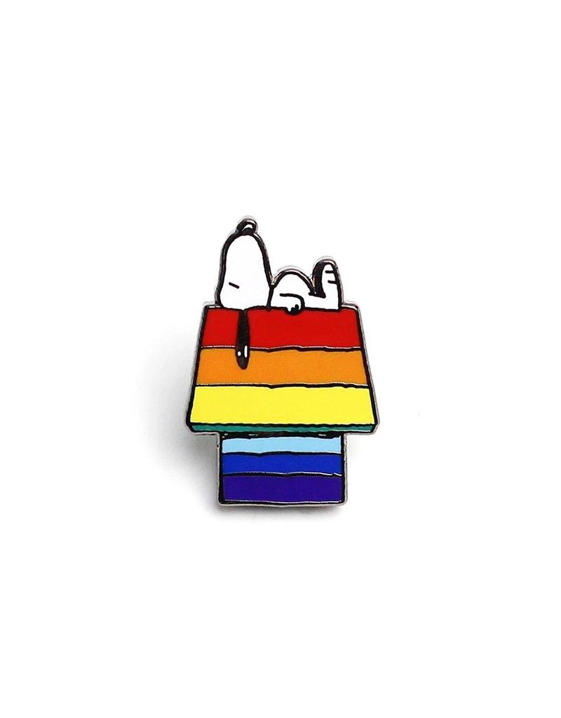 Peanuts -  Snoopy Rainbow House Pin
