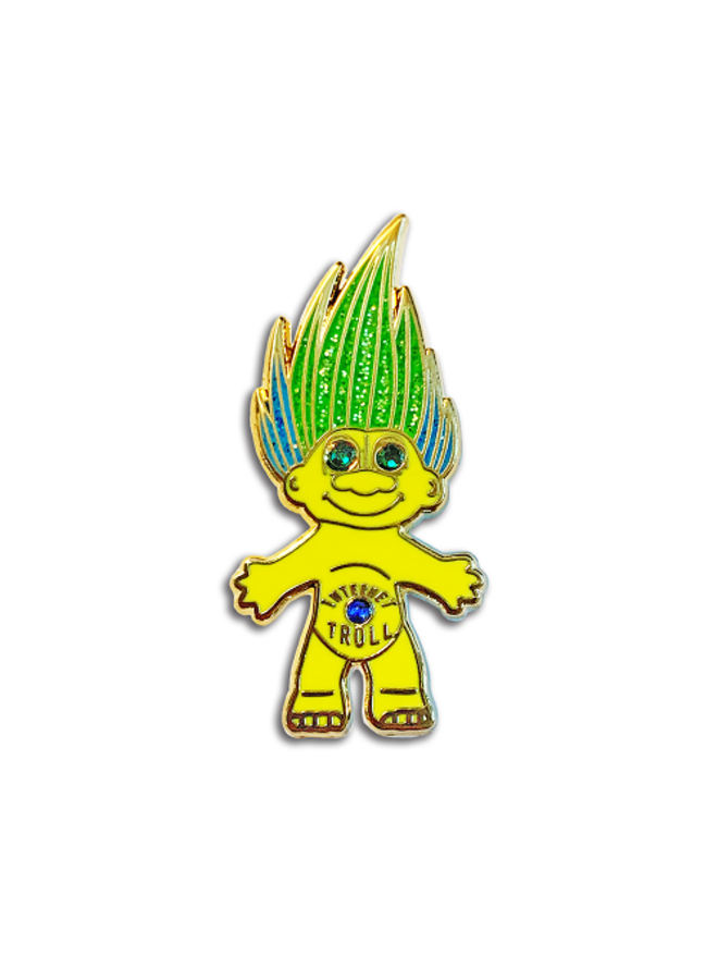 Internet Troll Pin