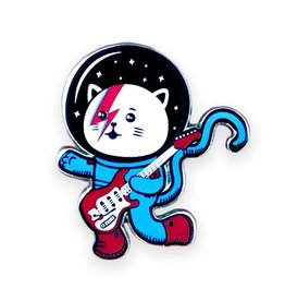 Major Tom Cat Pin