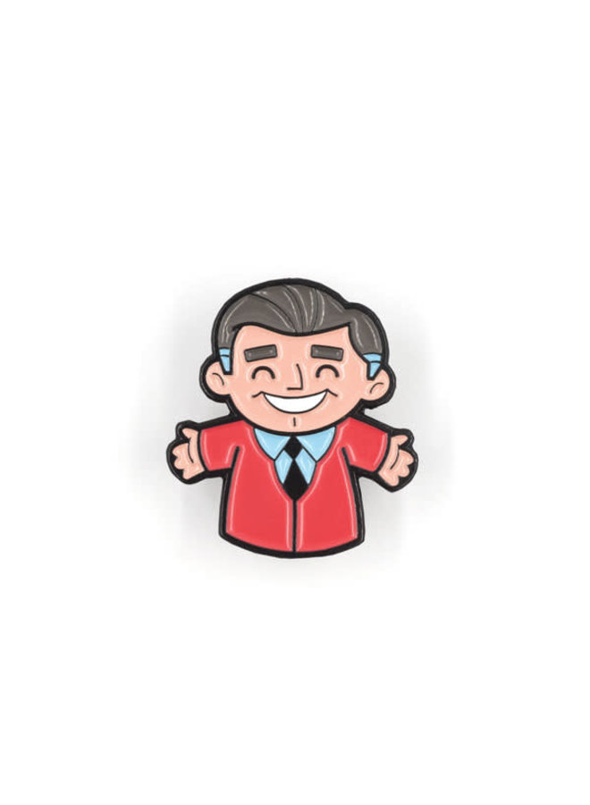 Mister Rogers Puppet Pin
