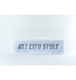 "All City Style Clear Ghost Train - Single 20"" half car model"