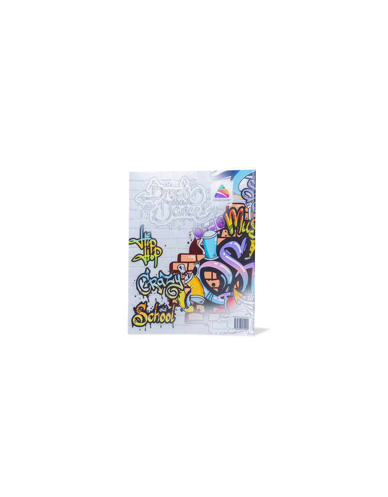 Graffiti Coloring Book: Street art coloring books for adults