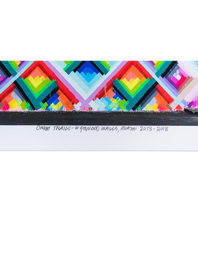 Maya Hayuk x Wynwood Walls 10th Year Commemoration Print