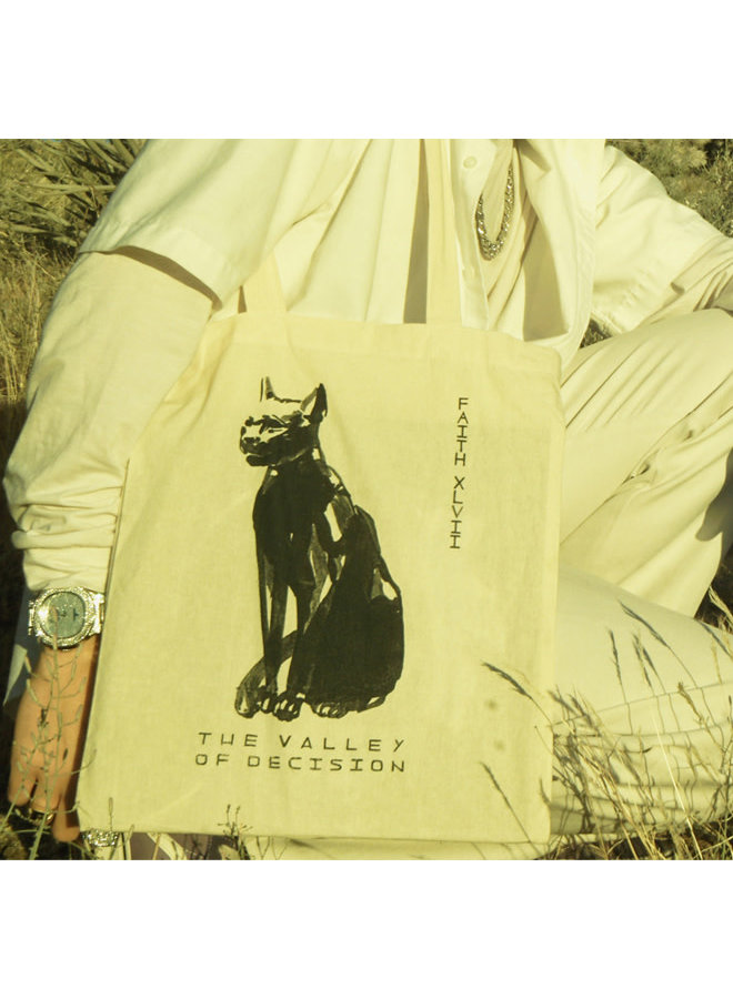 The Valley of Decision Tote Bag by FAITH XLVII