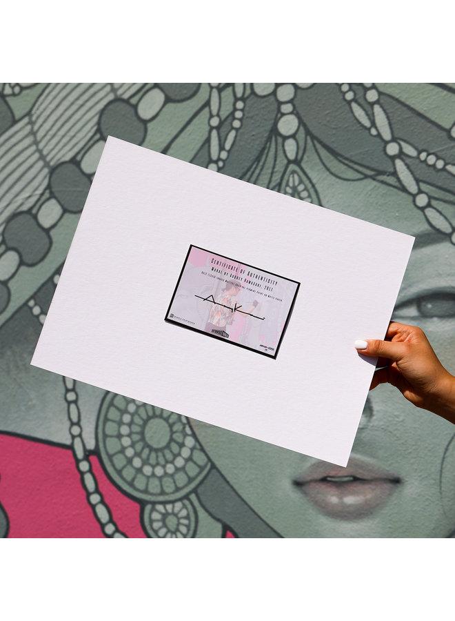 AUDREY KAWASAKI Matted Print