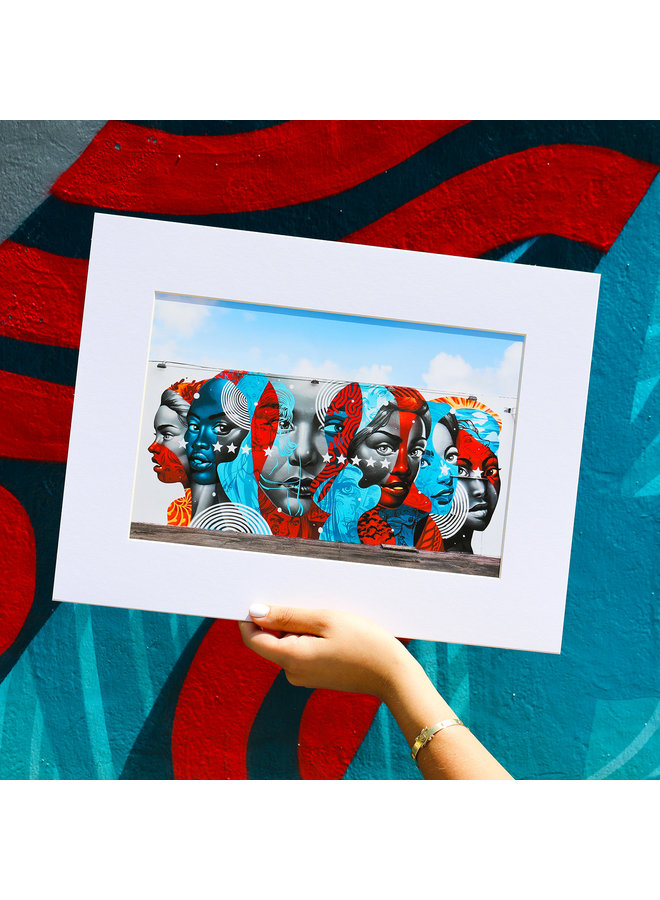 TRISTAN EATON Matted Print