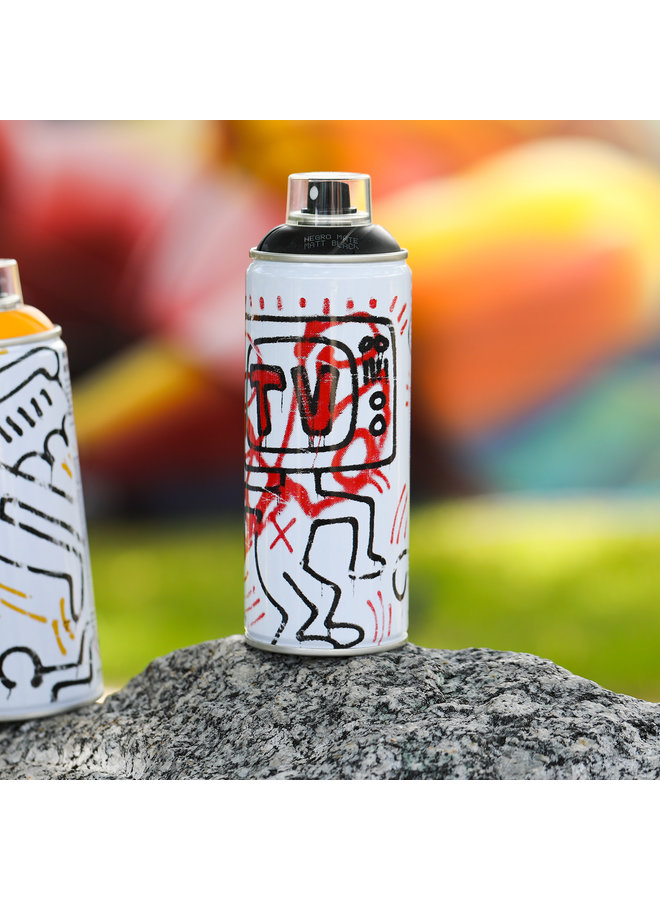 Limited Edition Keith Haring Black Spray Can