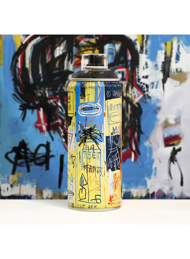 Limited Edition Basquiat Matte Black Spray Can