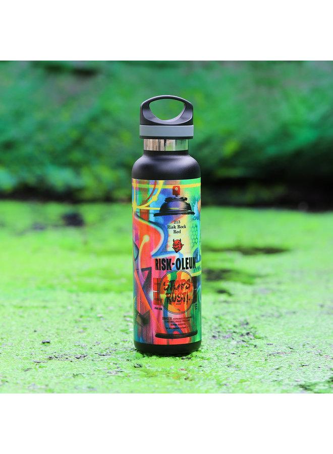 RISK  Riskoleum Water Bottle (Black)