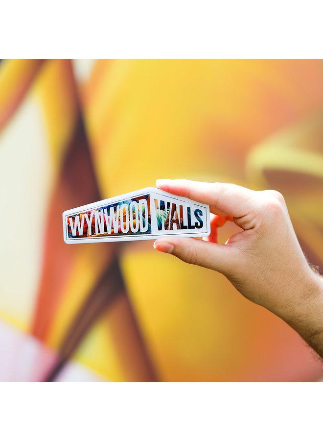 Wynwood Walls ASHOP Crew Enamel Magnet