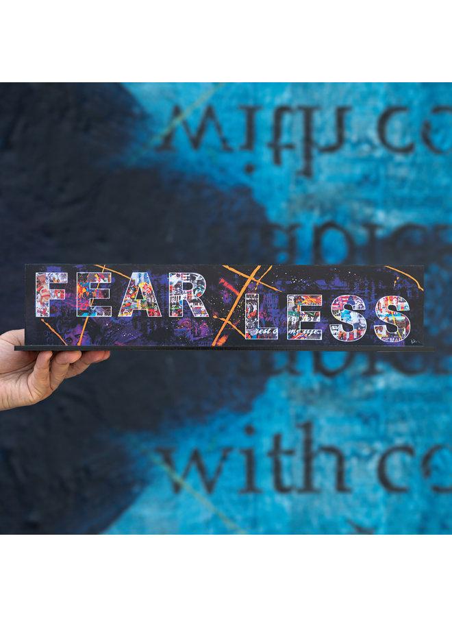 "Peter Tunney ""FEARLESS"" Acrylic Billboard"