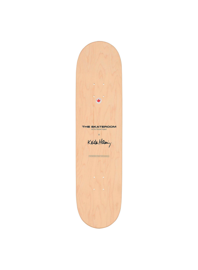 "Keith Haring ""Untitled (Heart)"" Skate Deck"