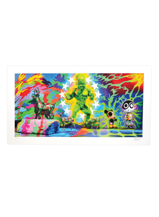 Ron English x Wynwood Walls 10th Year Commemoration Print