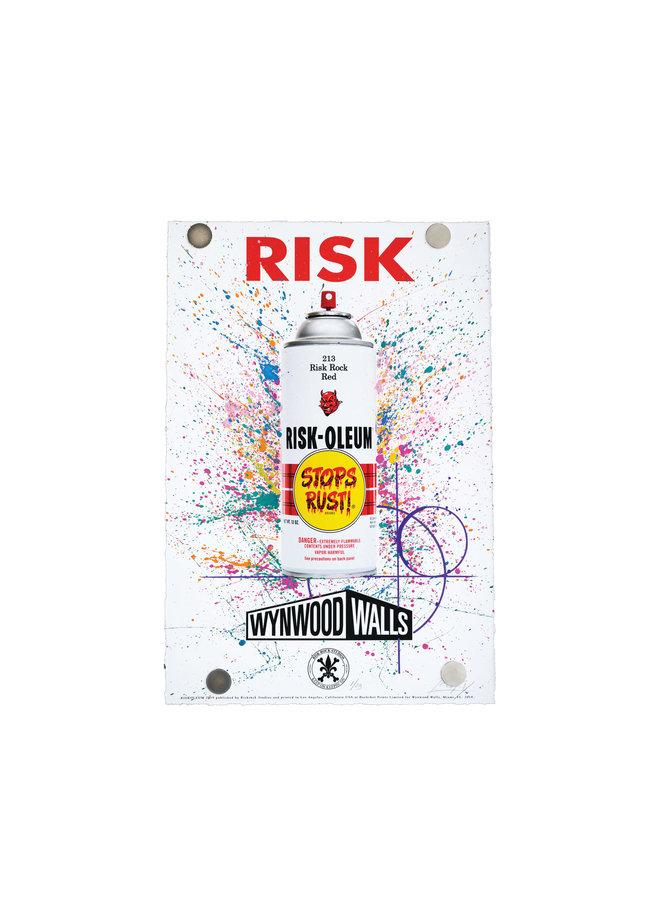 "Risk ""Riskoleum Wynwood Walls"" Print"