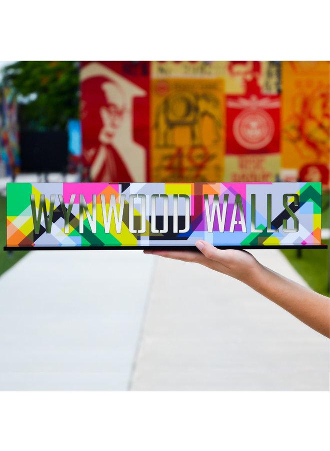 Acrylic Entrance Sign
