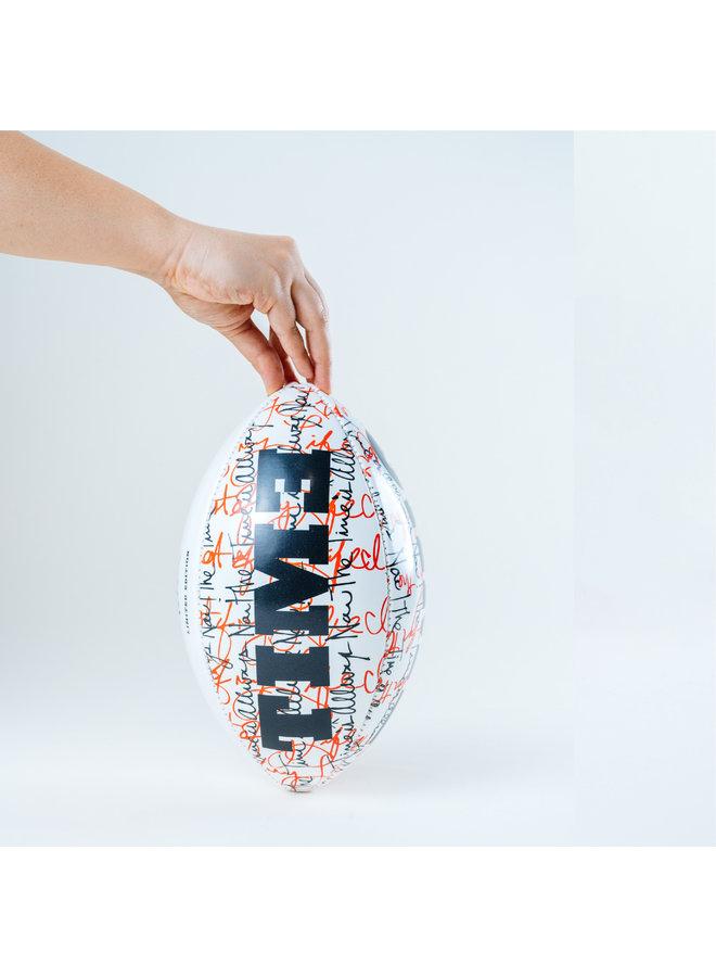 Wynwood x Wilson SBLIV Football by Peter Tunney