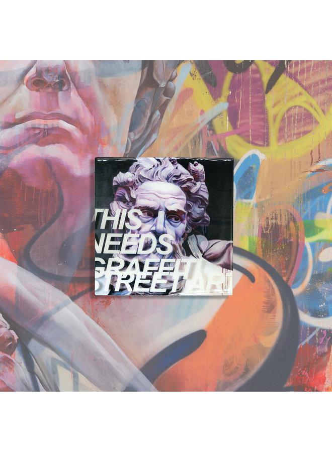 PichiAvo This Needs Graffiti Street Art Magnet