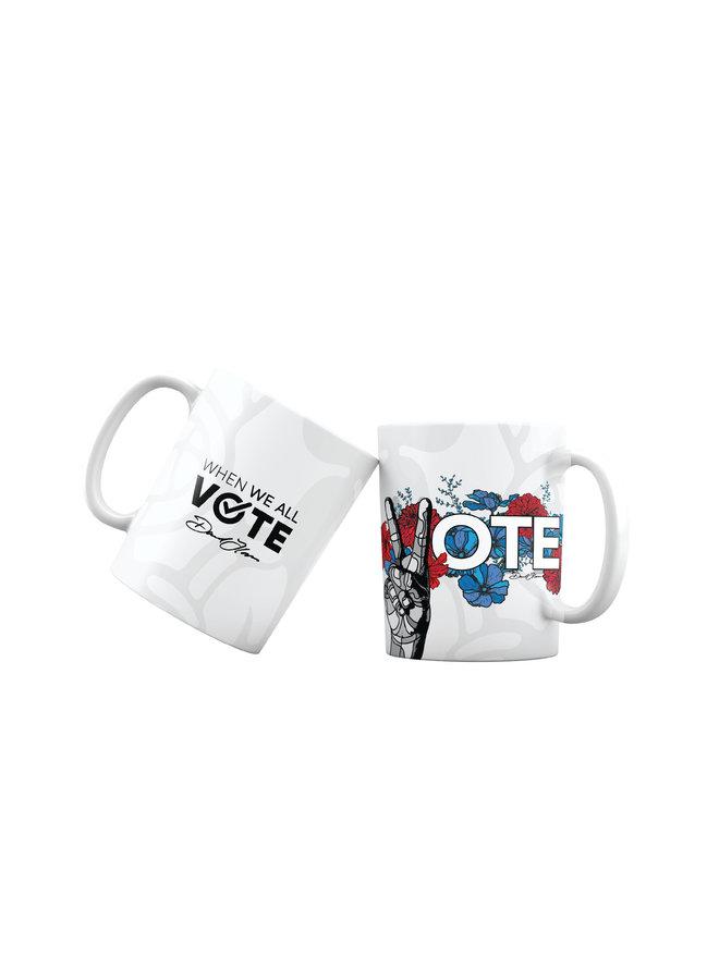 David Flores x When We All Vote Ceramic Mug