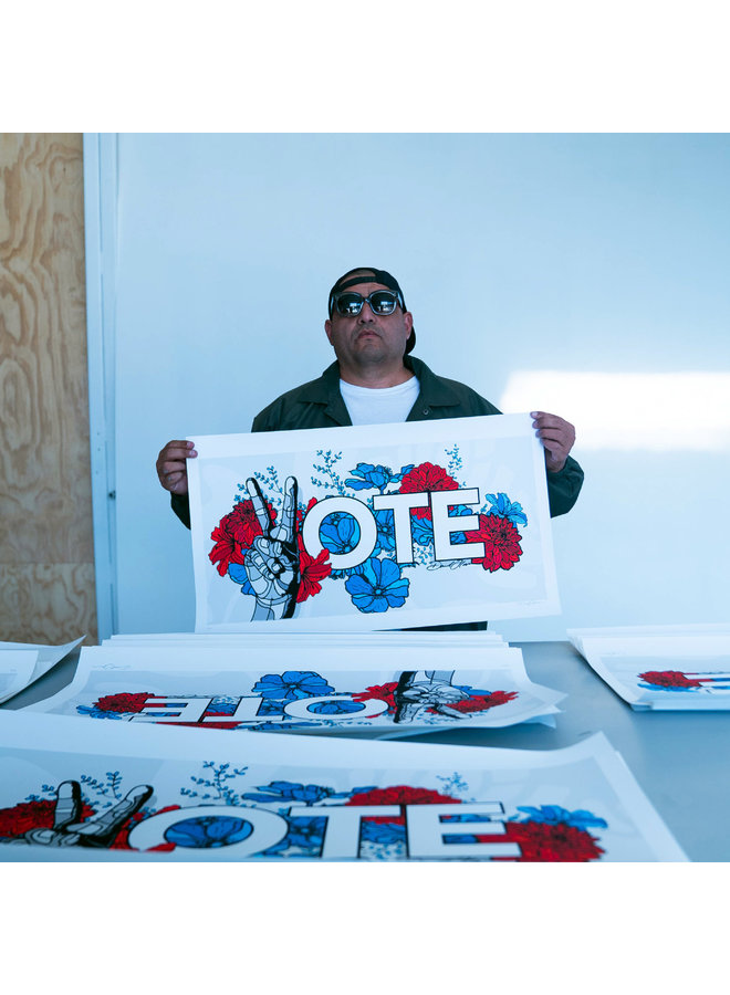 David Flores  x When We All Vote 2020