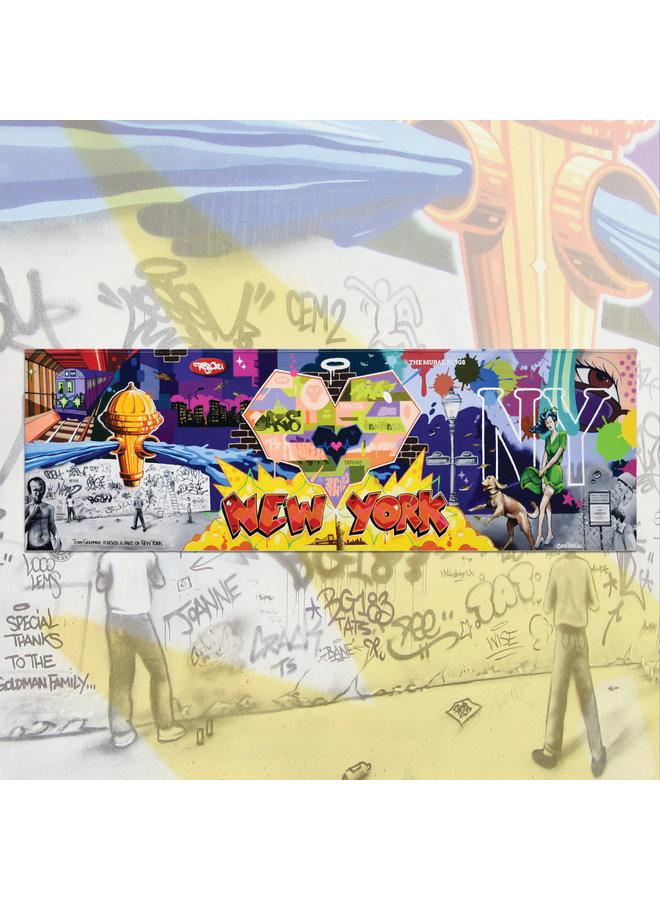 Tats Cru x Houston Bowery Commemorative 2019 Print