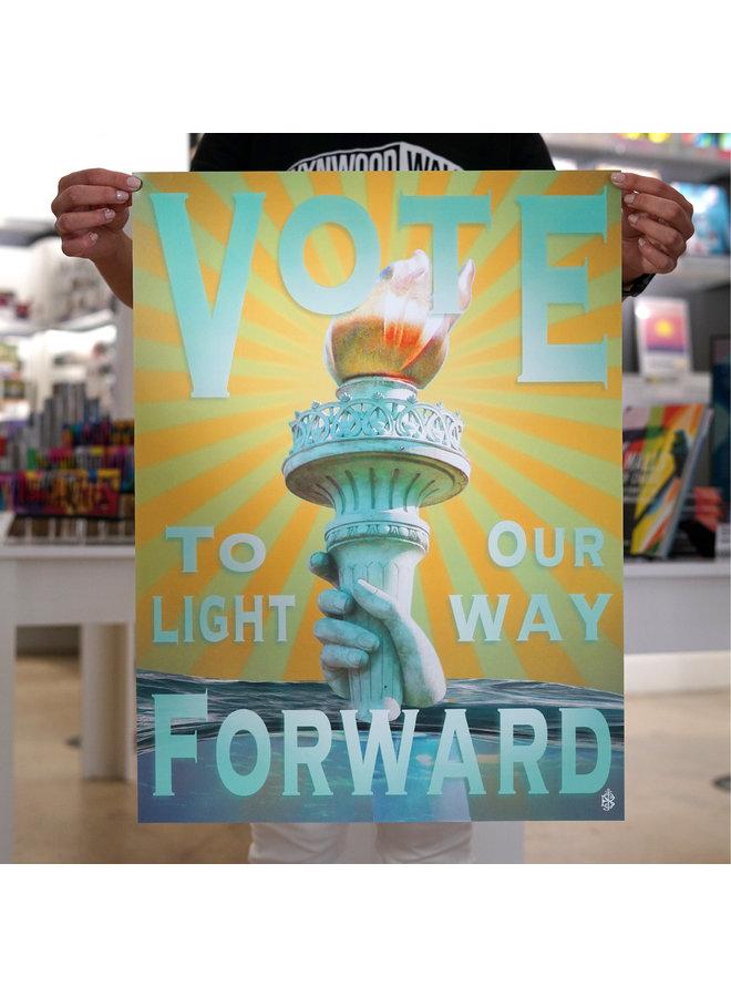 Beau Stanton x When We All Vote Commemorative Poster