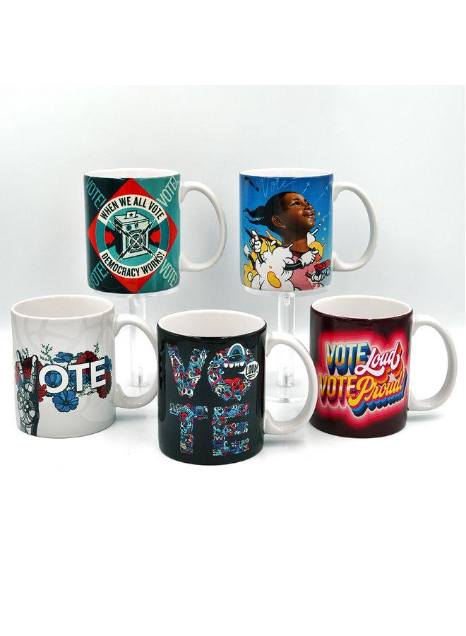 Queen Andrea x When We All Vote Ceramic Mug