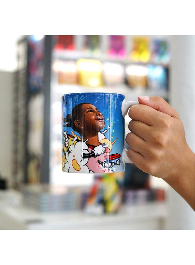 Kayla Mahaffey x When We All Vote Ceramic Mug