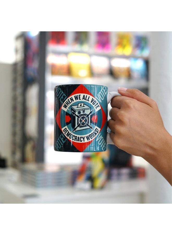 Shepard Fairey x When We All Vote Ceramic Mug
