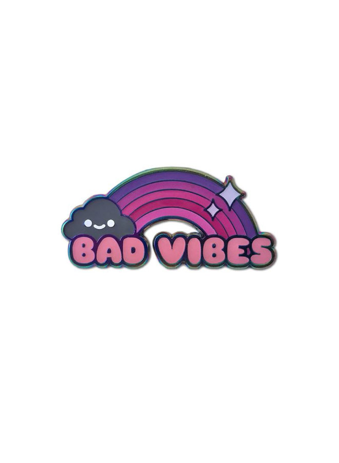 Bad Vibes Pin