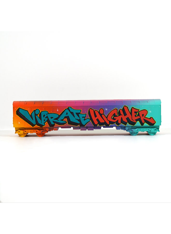 "ABSTRK  ""Vibrate Higher "" x   All City Style Train"