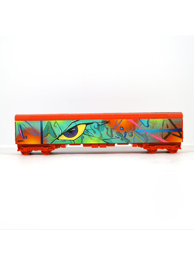 "ABSTRK  ""Tunnel Vision"" x   All City Style Train"