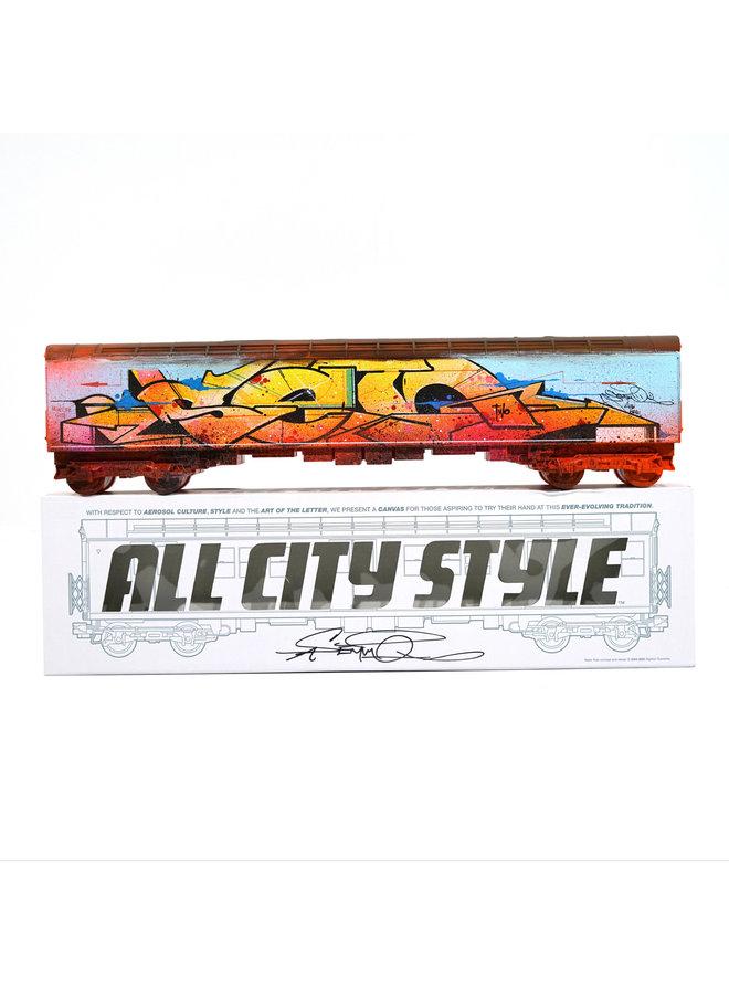 "Sen2 ""New Como""  x   All City Style Train"
