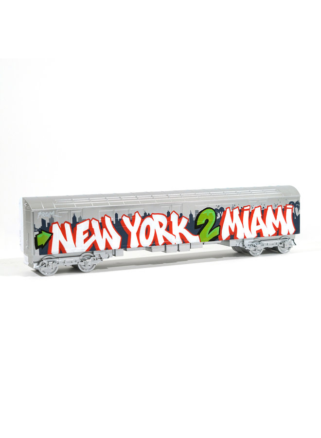 "Quake ""New York 2 Miami""  x   All City Style Train"