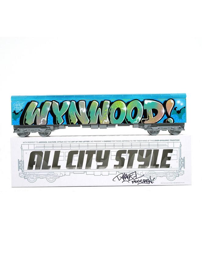 """Quake """"Wynwood Whole Car""""  x   All City Style Train"""