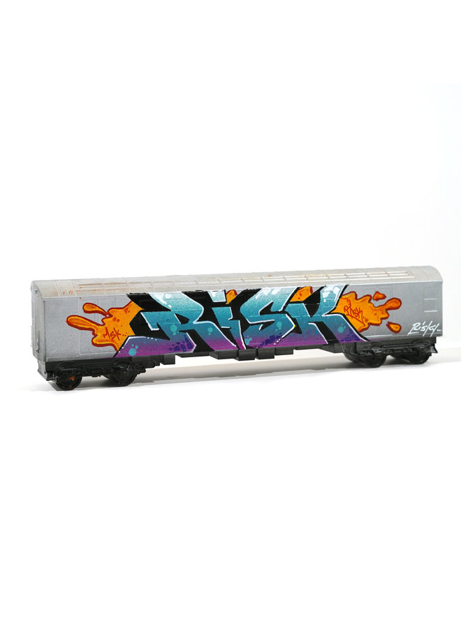 "RISK  ""Risky Freights ""  x   All City Style Train"