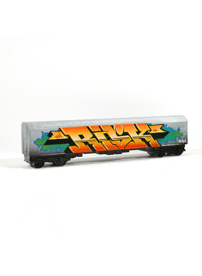 """RISK  """"Risky Freights"""" x   All City Style Train (2)"""