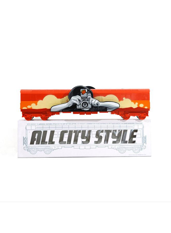 "Joe Iurato  ""Long Way Home (Dawn)""  x  All City Style Train"