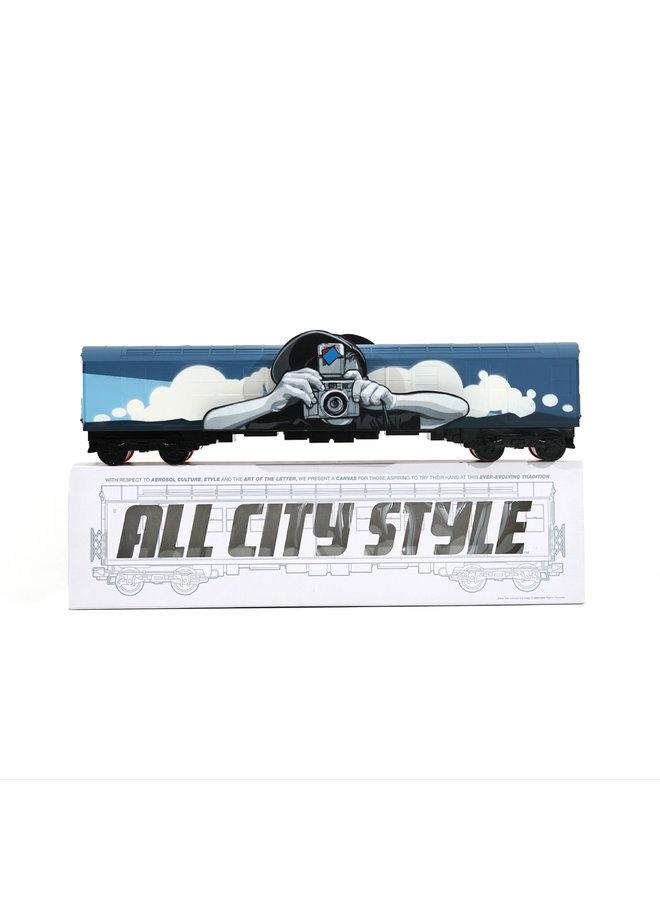 """Joe Iurato  """"Long Way Home (Dusk)""""  x  All City Style Train"""