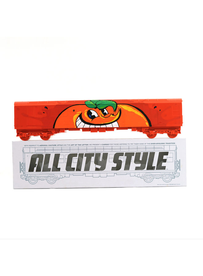 """Atomik """"Untitled""""  x   All City Style Train"""