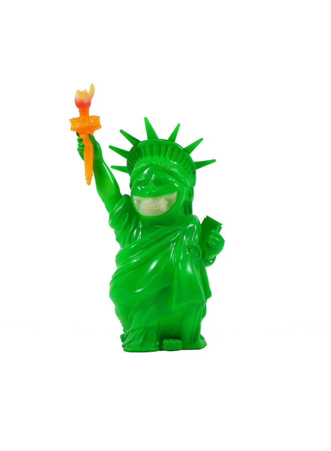 Ron English Liberty Grin BLM Green Figure