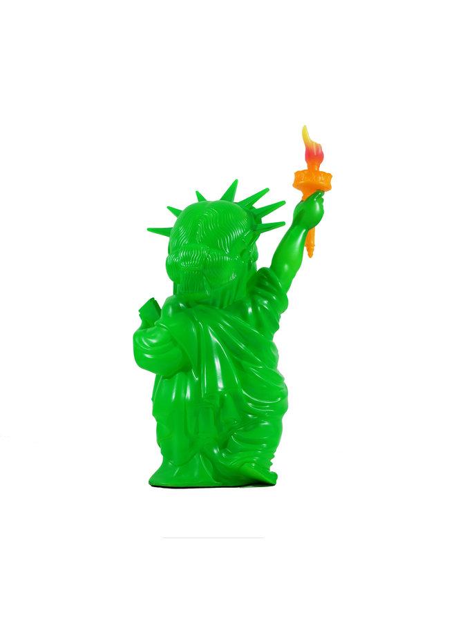 Ron English Liberty Grin BLM Green Figure