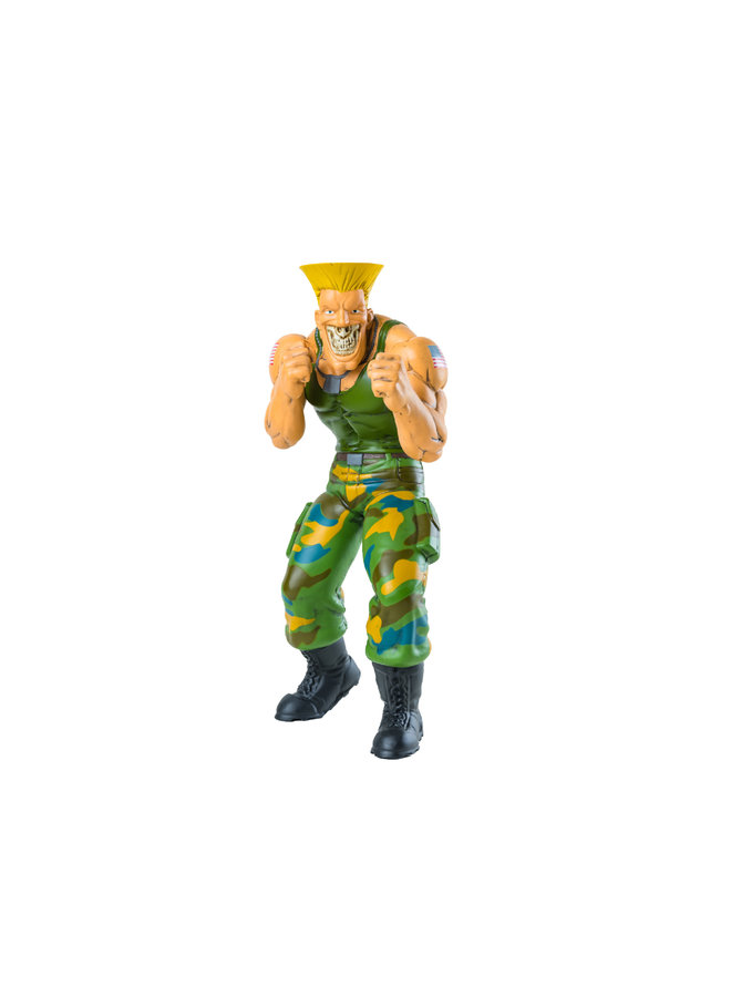 Ron English Street Fighter Guile Figure