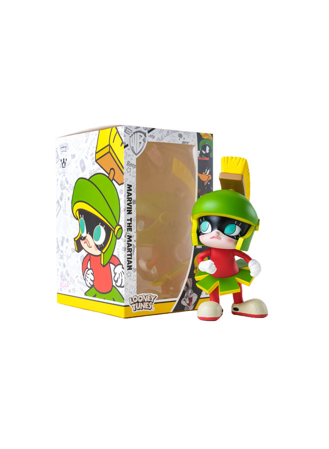 Get Animated Marvin the Martian Figure