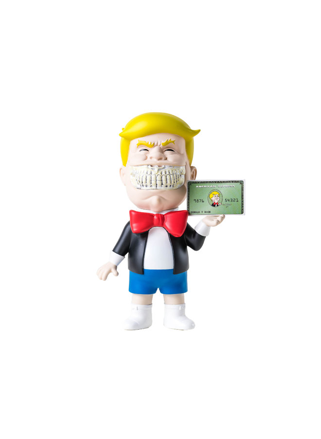 Ron English Donald T Rich Figure