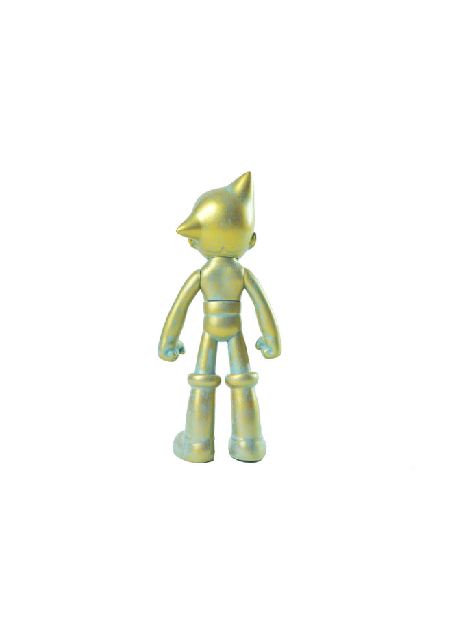 Ron English Astro Boy (Bronze Patina) Grin Figure