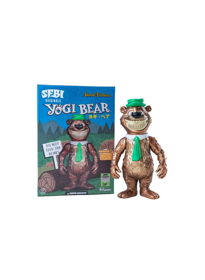 Ron English Yogi Bear Grin Figure