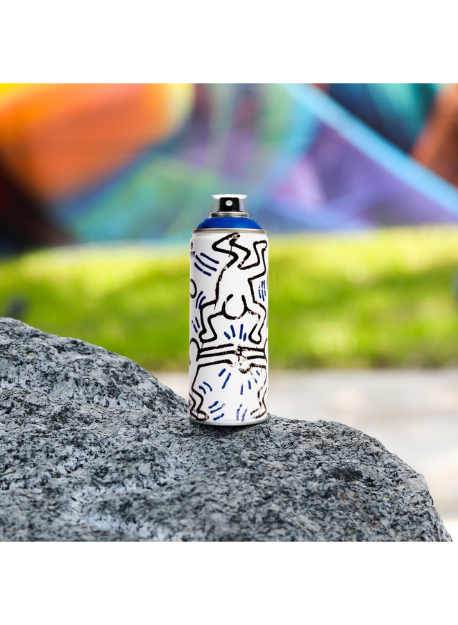 Limited Edition Keith Haring Dark Blue Spray Can